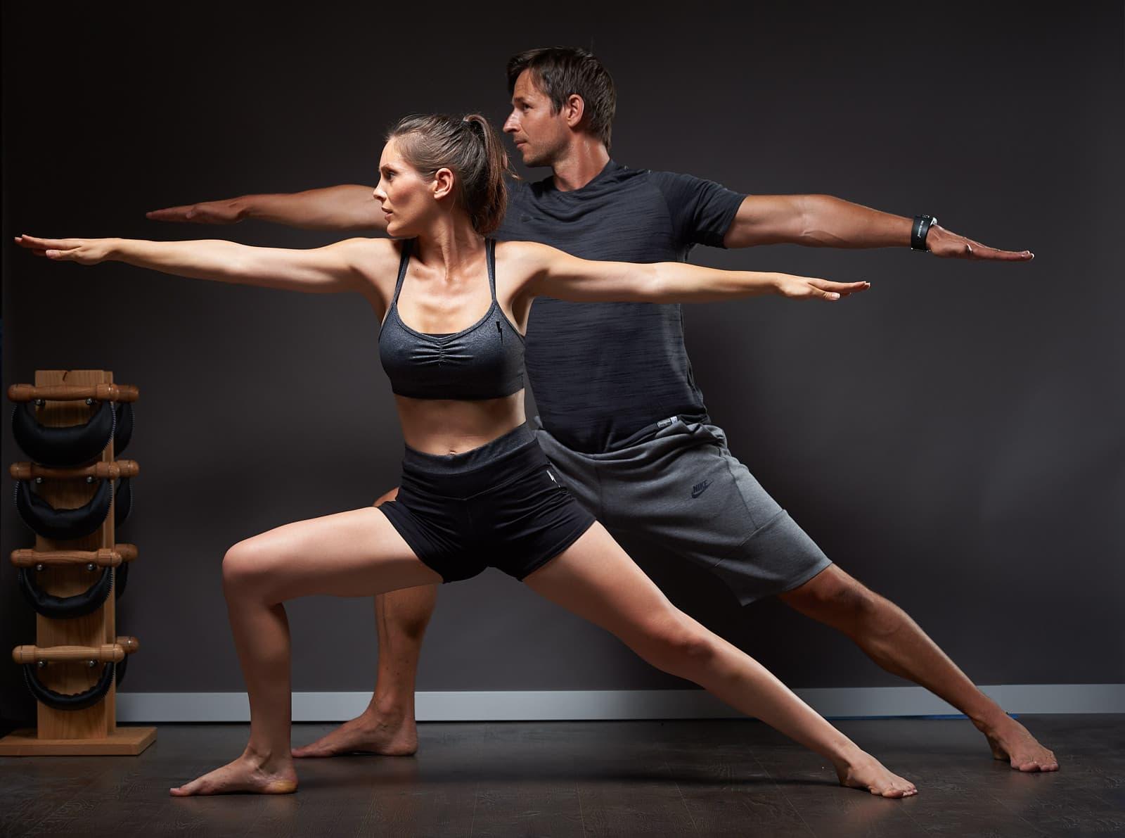 Yoga coach sportif