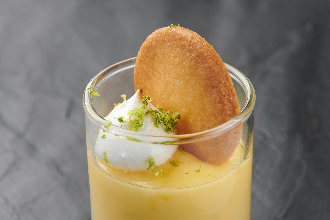 Desserts gastronomiques : tartelette citron revisitée